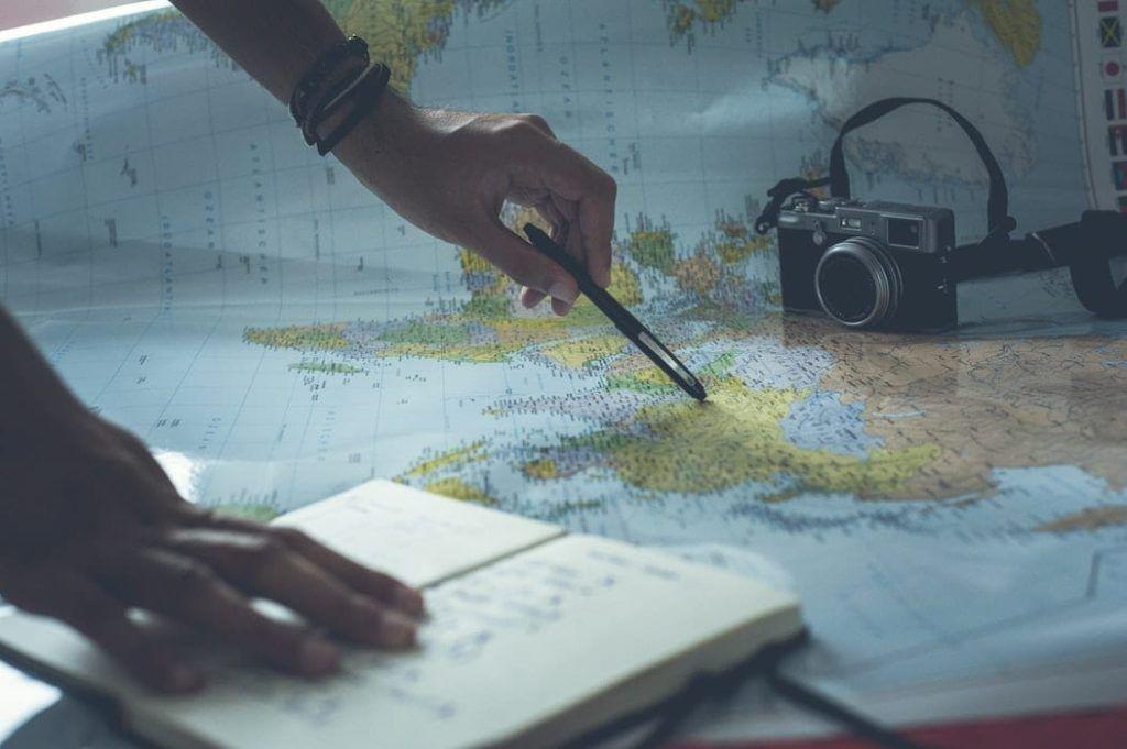Plotting on Map of the World