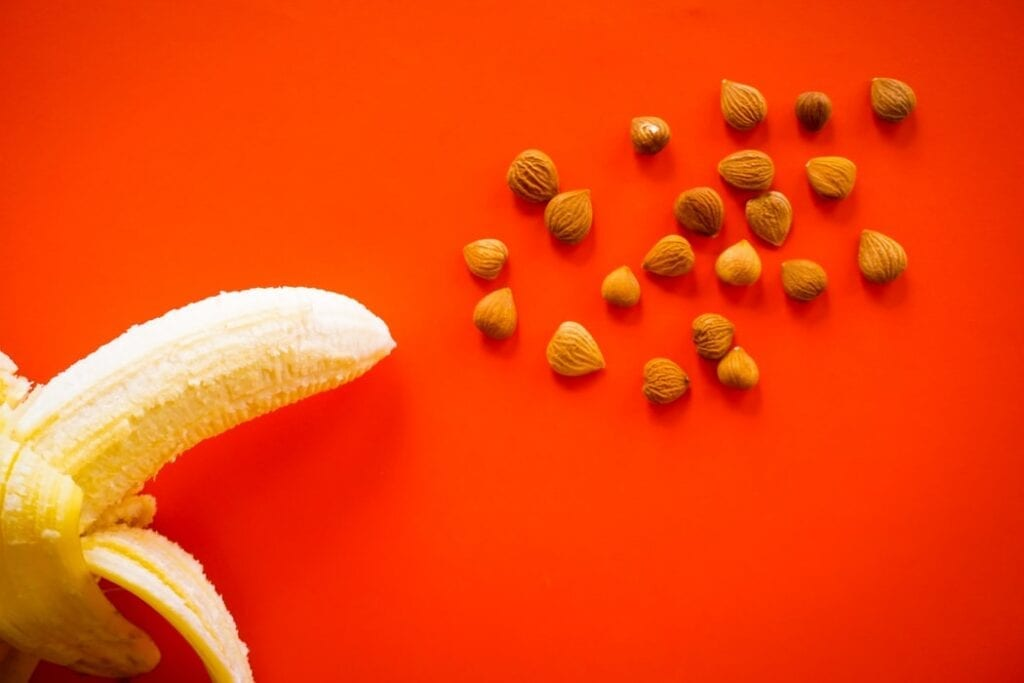 banana and nuts